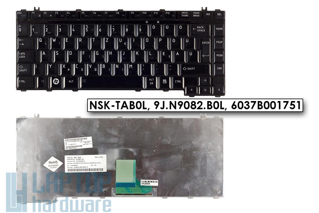 Toshiba Satellite A200, A300, M300, L300 magyar használt fényes billentyűzet