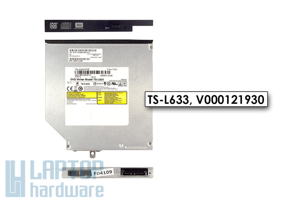 Toshiba Satellite A300, A300D használt SATA laptop DVD-író, TS-L633, V000121930