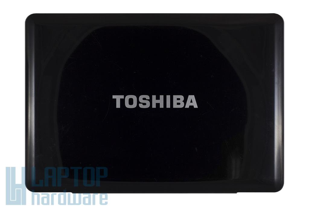 Toshiba Satellite A350, A355 laptophoz használt kijelző hátlap WiFi antennával, mikrofonnal (FA05S001L00)