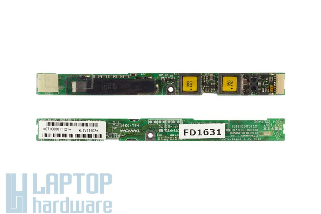 Toshiba Satellite A50, A55 laptophoz használt Kijelző inverter (G71C00011121)