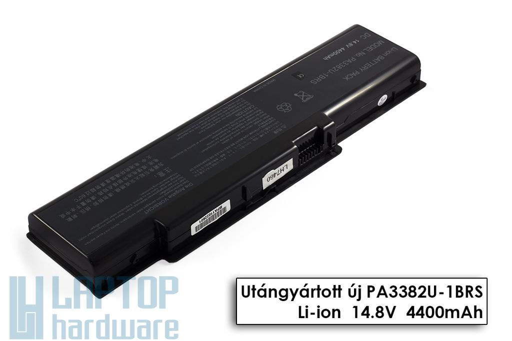Toshiba Satellite A60, A65, Satellite Pro A60 helyettesítő új 8 cellás laptop akku/akkumulátor (PA3382U-1BAS)