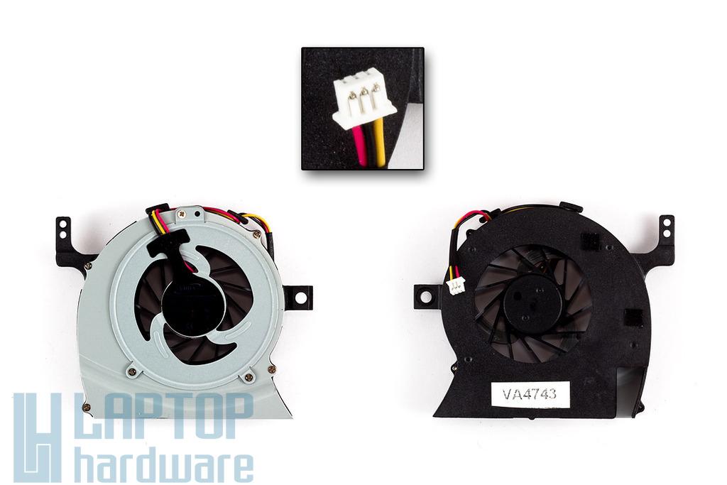 Toshiba Satellite C600, C640, L600, L640 gyári új laptop hűtő ventilátor (AB7805HX-GB3)
