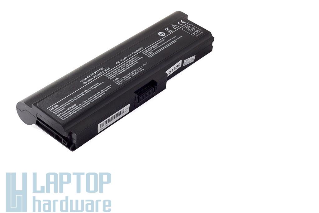 Toshiba Satellite L670, U400 helyettesítő új 9 cellás laptop akku/akkumulátor (PA3634U-1BAS)