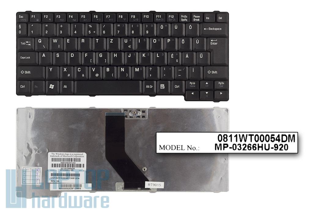 Toshiba Satellite L10, L20, L30 használt magyar laptop billentyűzet (MP-03266HU-920)
