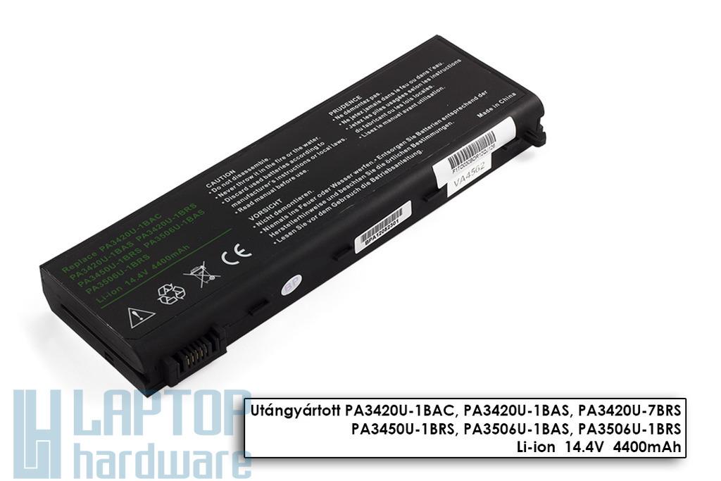 Toshiba Satellite L10, L20, L30 helyettesítő új 8 cellás laptop akku/akkumulátor (PA3420U-1BAS)