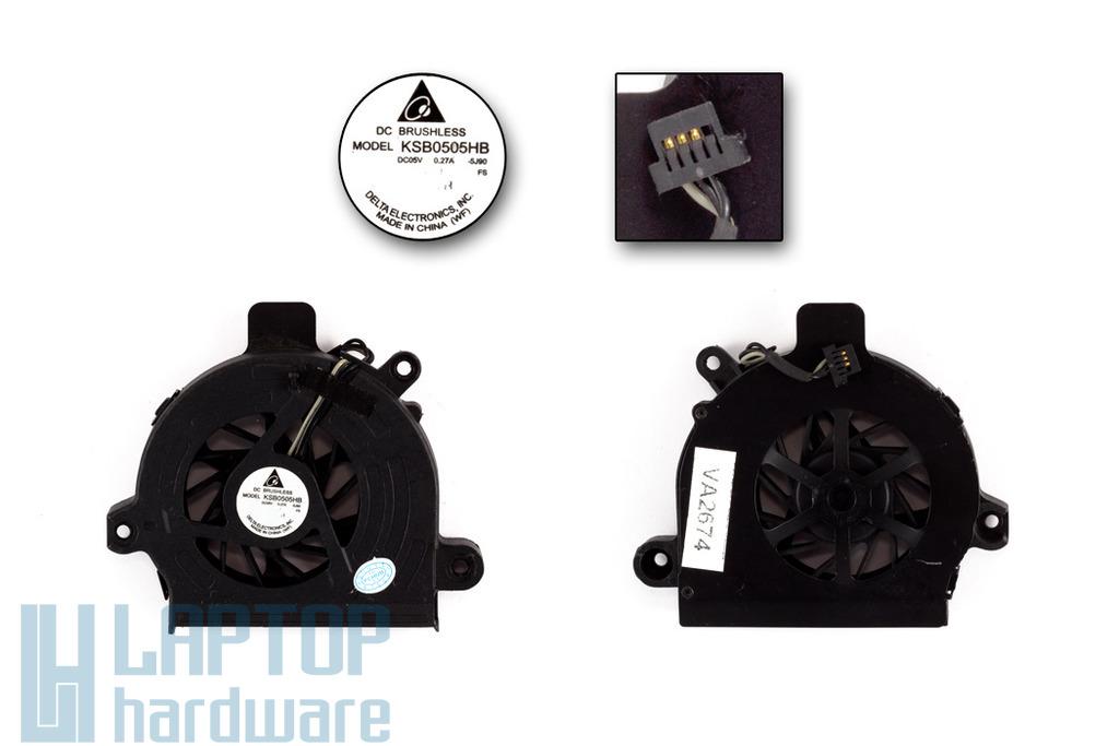 Toshiba Satellite L100 használt laptop hűtő ventilátor (KSB0505HB)