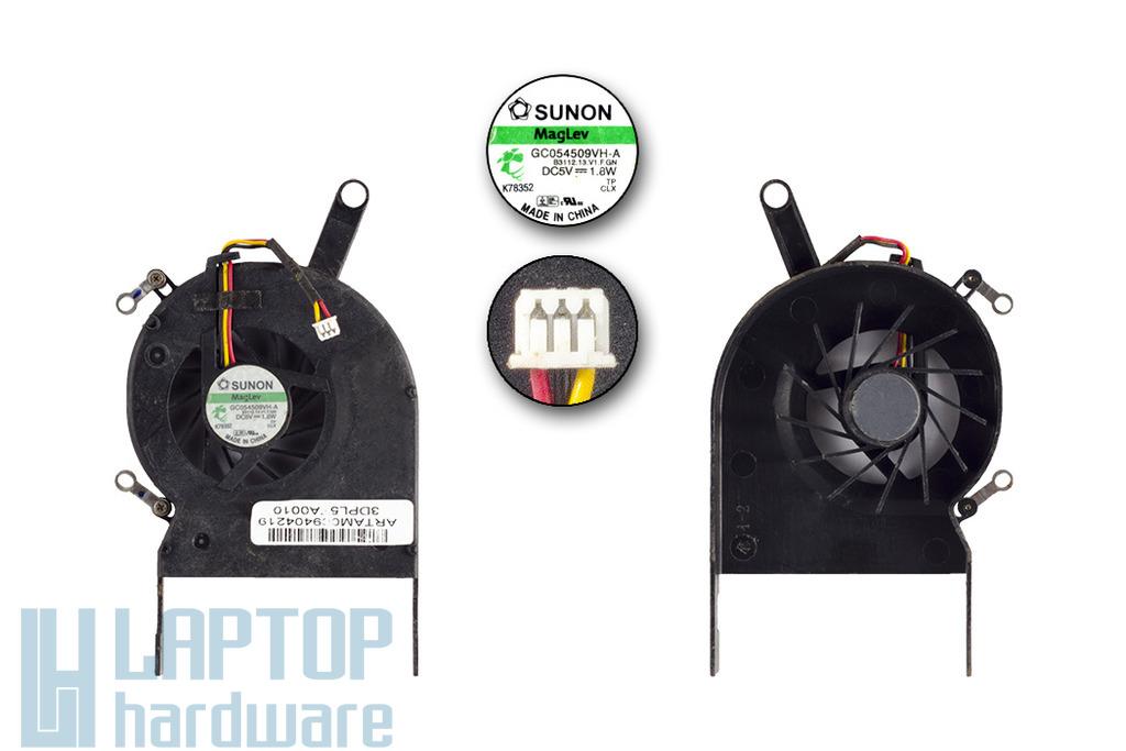 Toshiba Satellite L30, L35 gyári új laptop hűtő ventilátor, GC054509VH-A