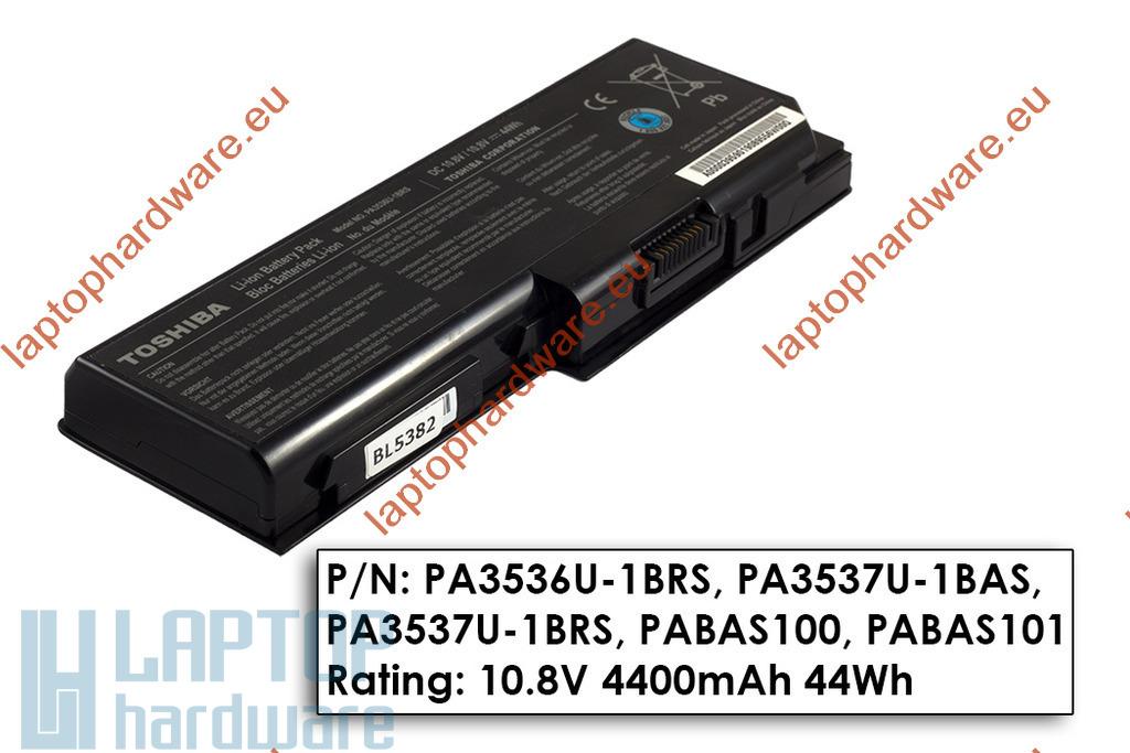 Toshiba Satellite L350, P200, P205 használt 90%-os notebook akku/akkumulátor PA3536U-1BRS