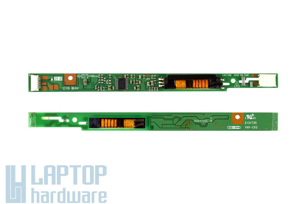 Toshiba Satellite L450, L455, L500 laptophoz használt LCD inverter (PK070005O30-A00,WK945K)
