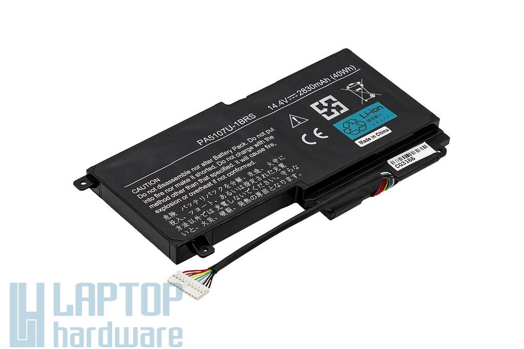 Toshiba Satellite L50, S50, P55T helyettesítő új 4 cellás laptop akku/akkumulátor (PA5107U-1BRS)