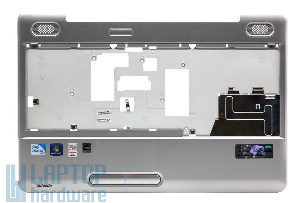 Toshiba Satellite L500, L500D használt ezüst laptop felső fedél touchpaddal (K000086990)