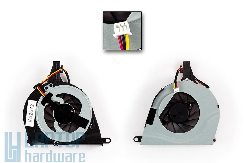 Toshiba Satellite L650, L650D, L655, L655D gyári új laptop hűtő ventilátor (AB8005HXGB3)