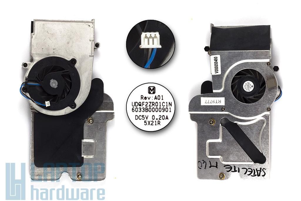 Toshiba Satellite M40, M45, Tecra A4 használt laptop hűtő ventilátor (V000050490)