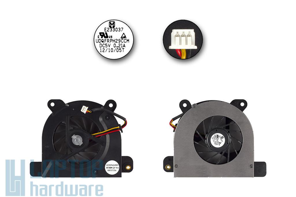 Toshiba Satellite M50, M55, M70 laptophoz használt hűtő ventilátor, USQFRPH29CCM