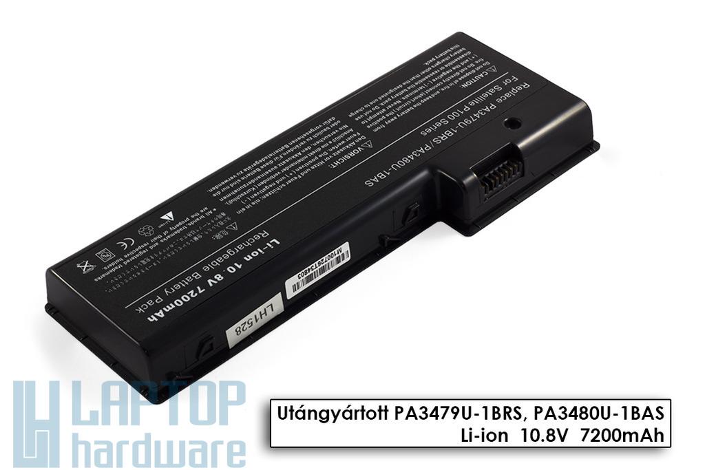 Toshiba Satellite P100, P105, Satellite Pro P100 helyettesítő új 9 cellás laptop akku/akkumulátor (PA3480U-1BAS)