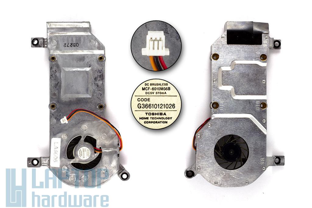 Toshiba Satellite Pro 4270 használt laptop hűtő ventilátor (G36610121026)