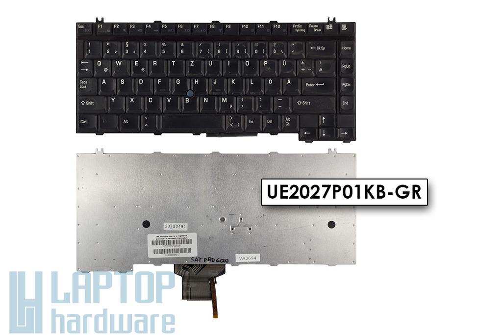 Toshiba Satellite Pro 6000, 6100 használt német laptop billentyűzet (UE2027P01KB-GR)