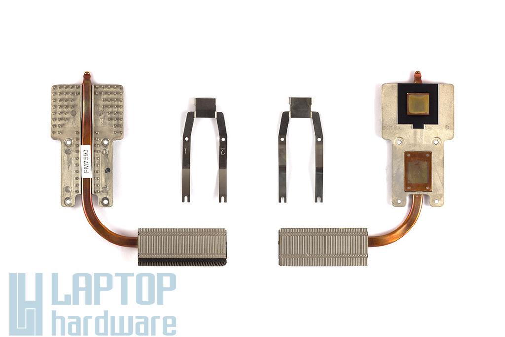 Toshiba Satellite Pro L300 laptophoz használt processzor hőelvezető cső (6043B0044401)