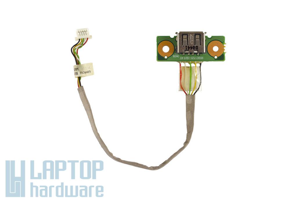 Toshiba Satellite Pro L300 laptophoz használt USB port kábellel (6050A2266301)