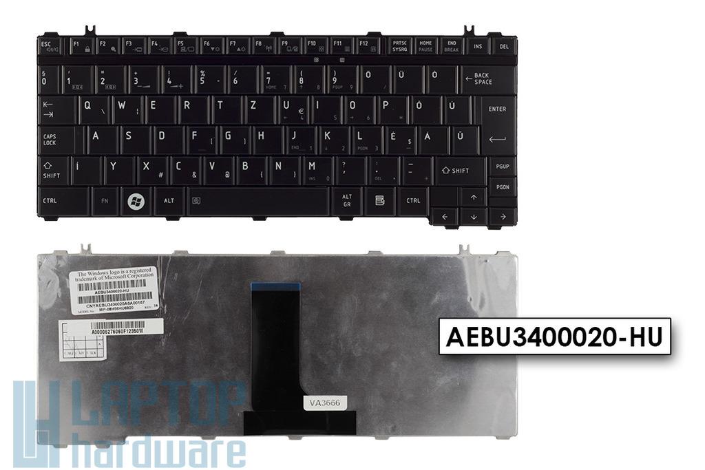 Toshiba Satellite T130, T135, Portege M900 gyári új magyar laptop billentyűzet (AEBU3400020-HU)