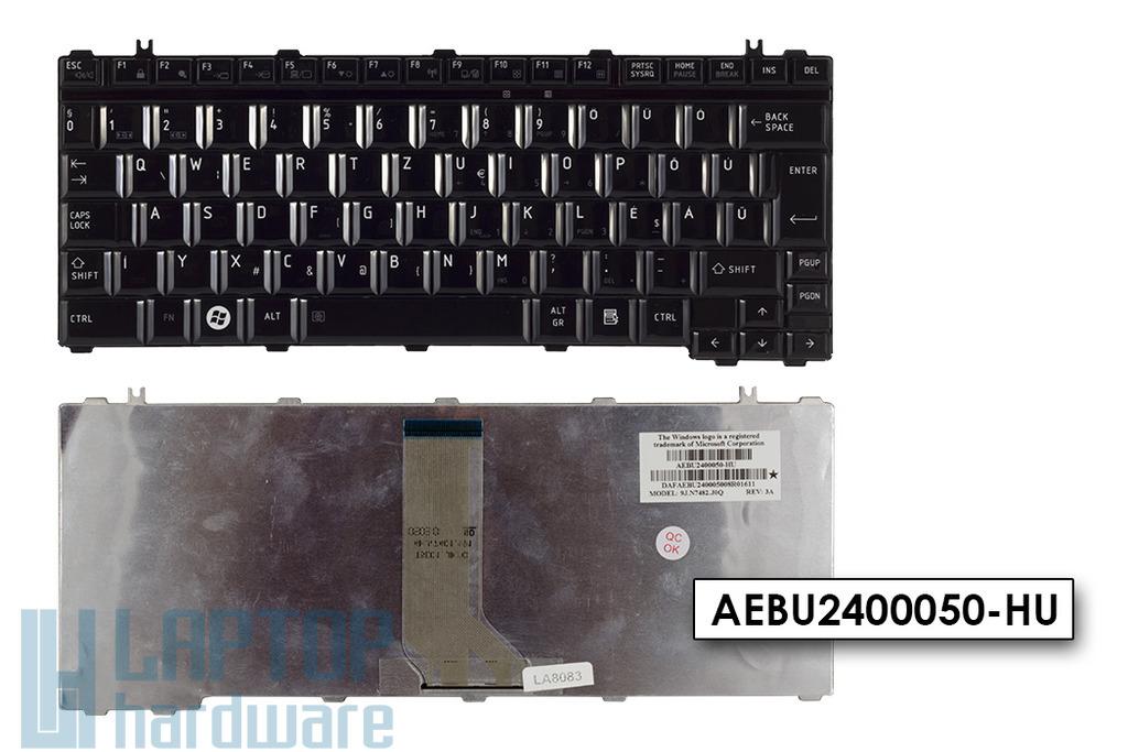 Toshiba Satellite U400, U405, U500 gyári új magyar laptop billentyűzet (AEBU2400050-HU)