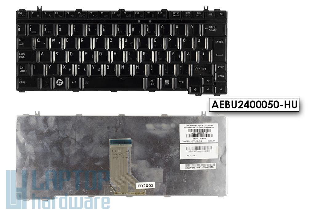 Toshiba Satellite U400, U405, U500 használt magyar laptop billentyűzet (AEBU2400050-HU)