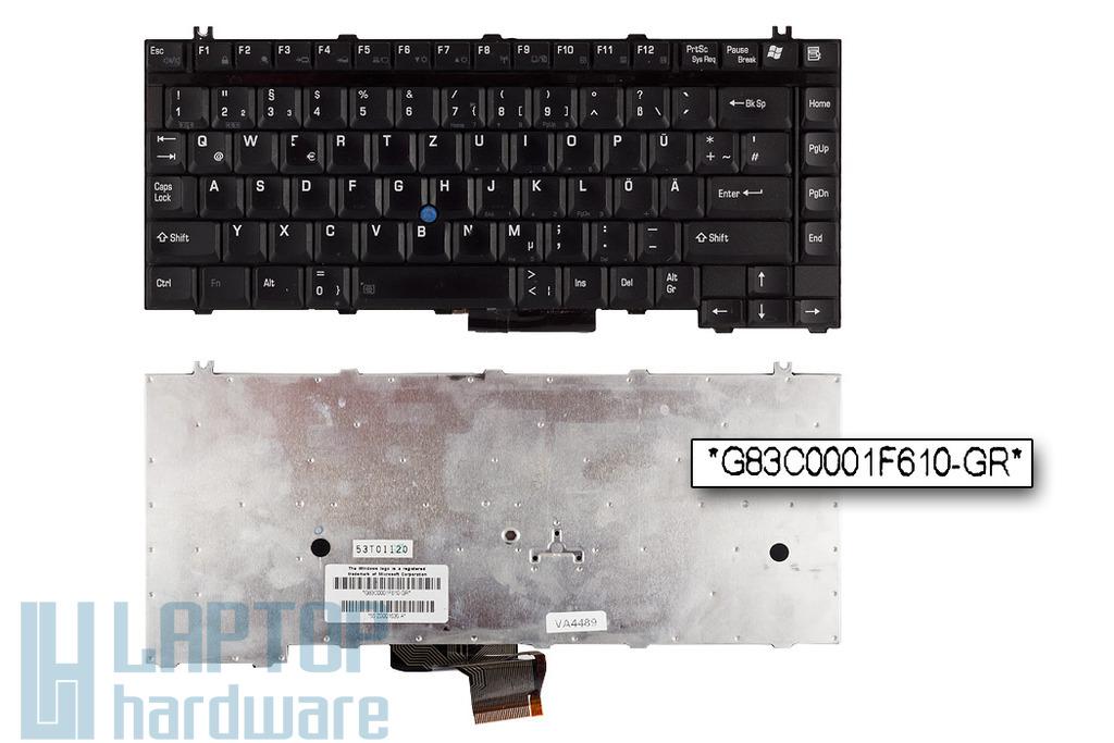 Toshiba Tecra A2, A3, M2, M3, M4 használt német laptop billentyűzet (G83C0001F610-GR)