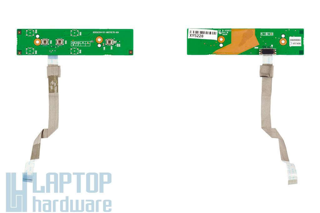 Toshiba Tecra A7 laptophoz használt bekapcsoló gomb panel (V000060500)