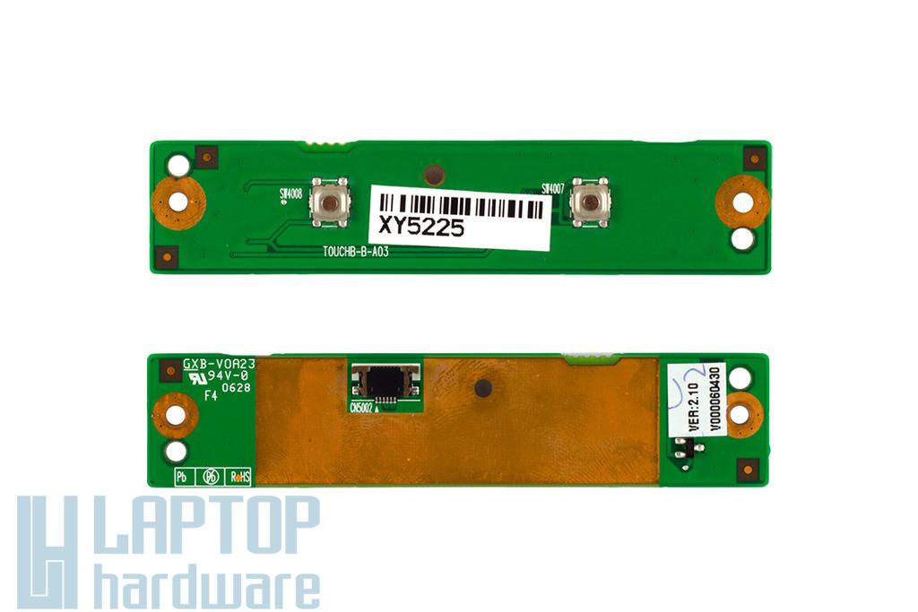 Toshiba Tecra A7 laptophoz használt touchpad gomb panel (V000060430)