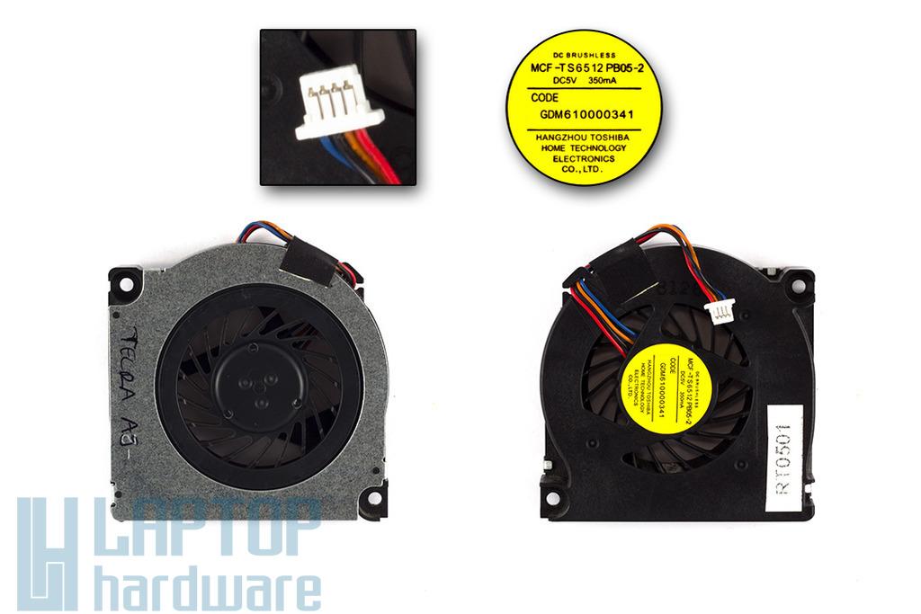 Toshiba Tecra A9 használt laptop hűtő ventilátor (MCF-TS6512 PB05-2)