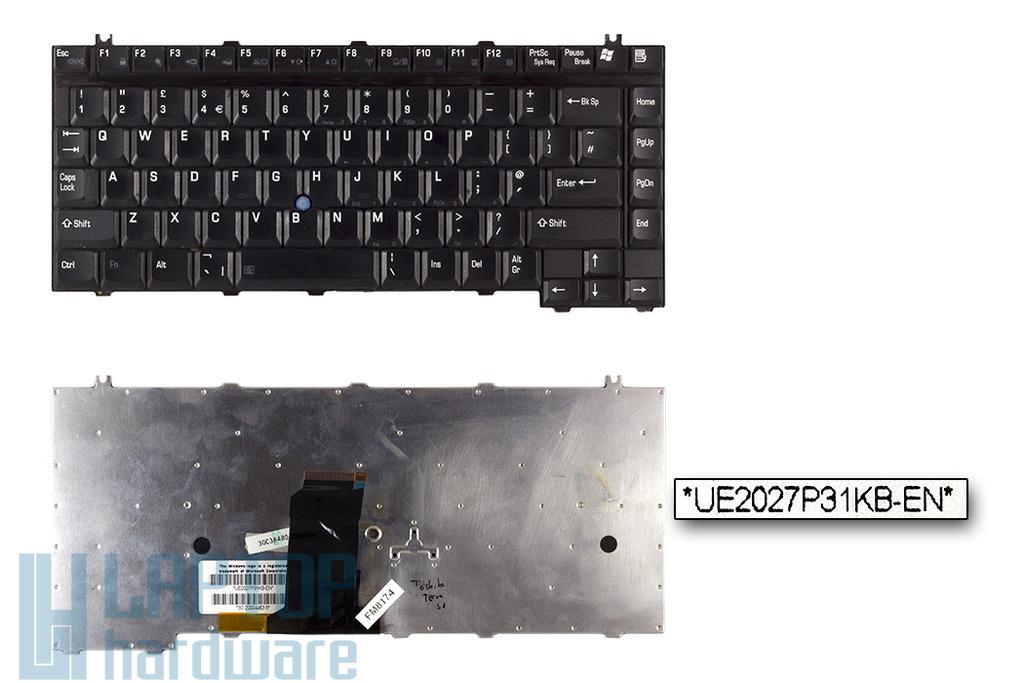 Toshiba Tecra S1 használt angol laptop billentyűzet (UE2027P32, V000020540)