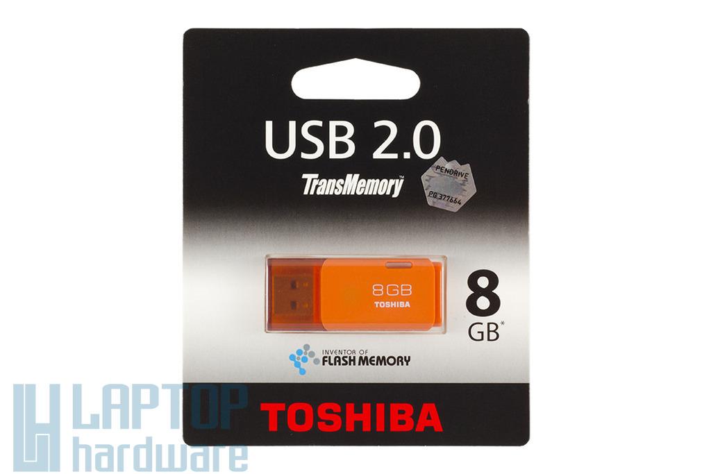 Toshiba TransMemory 8GB narancssárga USB 2.0 pendrive (THNU08HAYORANG BL5)