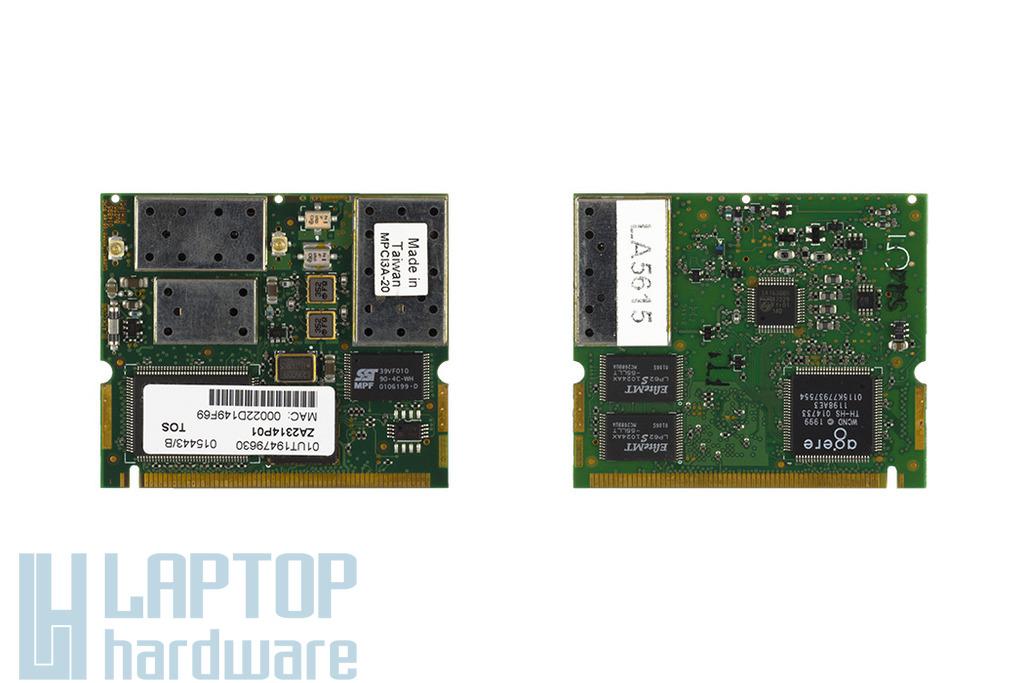 Toshiba ZA2314P01 használt Mini PCI WiFi kártya Toshiba laptophoz