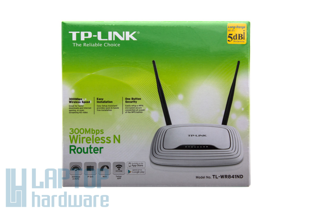 TP-Link 300M Wireless N Router (TL-WR841ND)