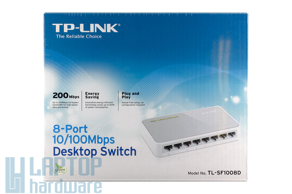 TP-Link 8 portos 10/100Mbps Fast Ethernet Switch, TL-SF1008D