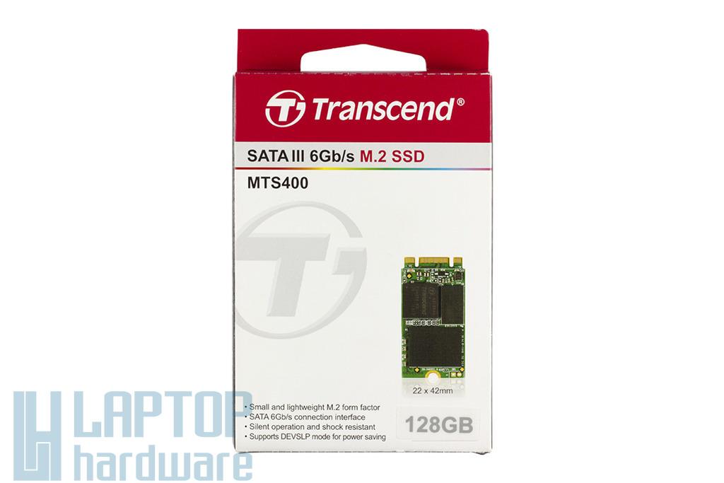 Transcend 128GB M.2 SATA SSD kártya, TS128GMTS400
