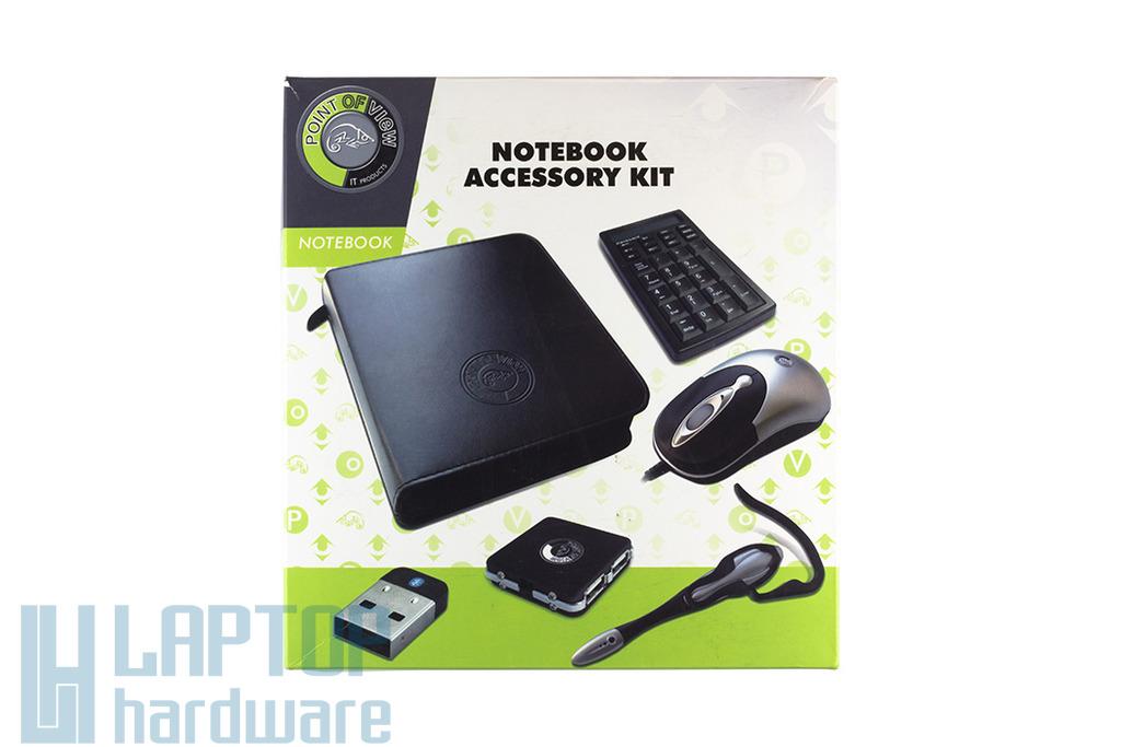 USB notebook egér, bluetooth, HUB, headset, Num Pad utazó KIT - Akciós