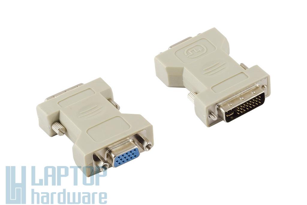 Wiretek DVI (apa) - VGA (anya) átalakító (DVIAI)