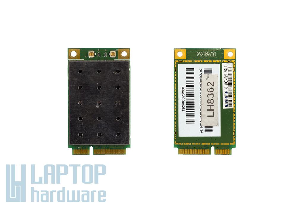 WN6302A V01 G75G használt Mini PCI-e laptop WiFi kártya