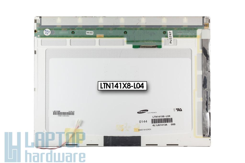 XGA 1024x768 CCFL használt matt laptop kijelző, LTN141X8-L04