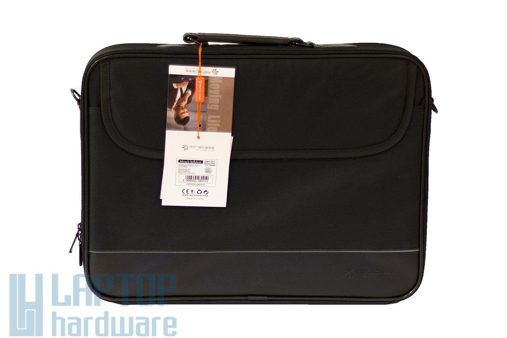 Xpert-Tech Miracase 15.6'' fekete laptop táska